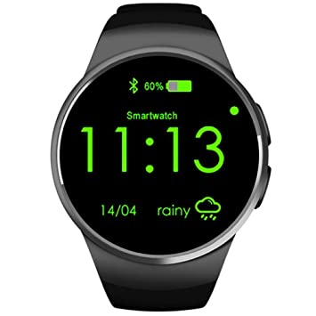 CN Smart Watch Kpulsmesser Tarjeta de Teléfono Móvil Llamada de un ...