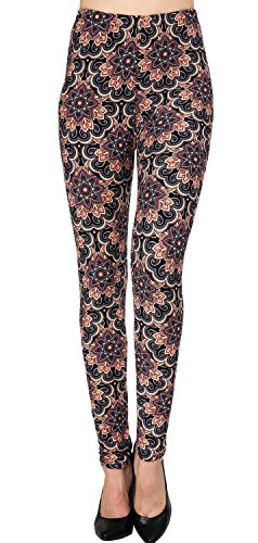 VIV Collection Best-Selling Printed Brushed Leggings Plus Size (L – XXL) Listing 5 51StOPYnTkL