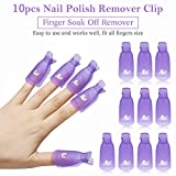 Makartt Gel Nail Polish Remover Clips Kit with