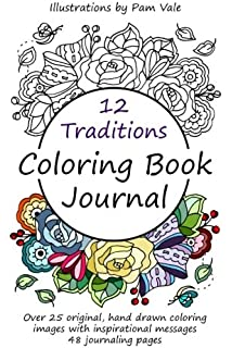 12 Traditions Coloring Book Journal