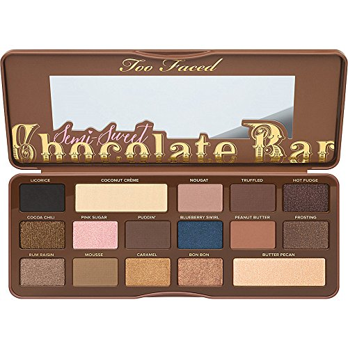 """Too Faced Chocolate Bar """"Palette Eyeshadow 16 shades with a"""