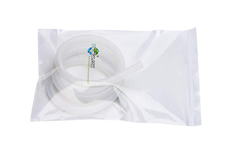 TEN-HIGH Tubo de Silicona Manguera de Agua//Aire 8mm x 12mm de Grado Industrial Longitud de 2m