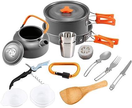 FYHCY Camping Cocina 12 Piezas Mini Kit de Utensilios de ...
