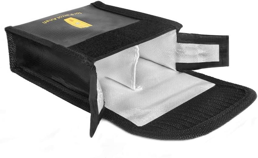 Safe Radiation Protection Explosion-proof Bag for Parrot ANAFI Lipo Battery