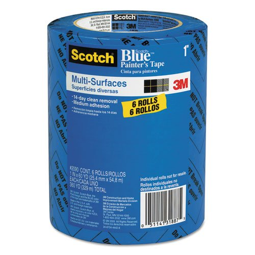 3M Scotch Blue Painters Tape Value Pack