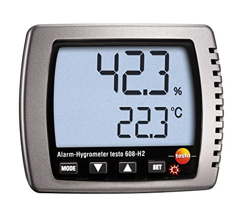 Price comparison product image Testo 608-H2 Thermal Hygrometer Alarm-Hygrometer Dew Point Meter 14° to 158 °F 2 to 98%rH