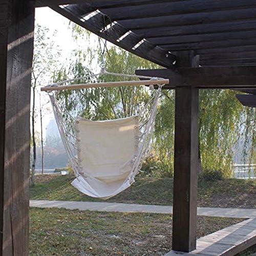 RLUJIUHSC Silla Colgante Costura De Cuerda De Nylon, Material De ...