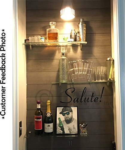 Italy Home Decor: Salute! (Health, Well-Being) Italian Phrase Wall Saying