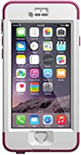 LifeProof iPhone 6 Case, Nuud Series, Pink Pursuit (White/Deep Pink)