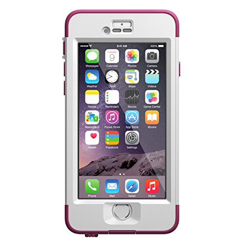 LifeProof NUUD iPhone 6 Waterproof Case (4.7″ Version) – Pink Pursuit (White/Deep Pink)