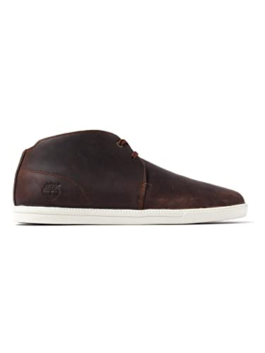 Timberland Men's Fulk LP Mid Desert Boots - Gaucho Leather, Brown, ...