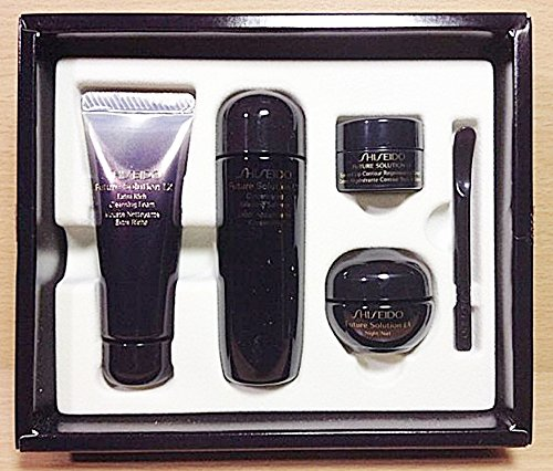 Shiseido Revital Cleansing Foam - Shiseido FUTURE SOLUTION LX Foam+Softener+Eye and Lip Cream+night cream 4pcs Set