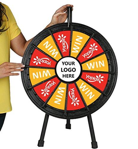 Tabletop Prize Wheel 12 Slots (20.5 Inch Diameter)