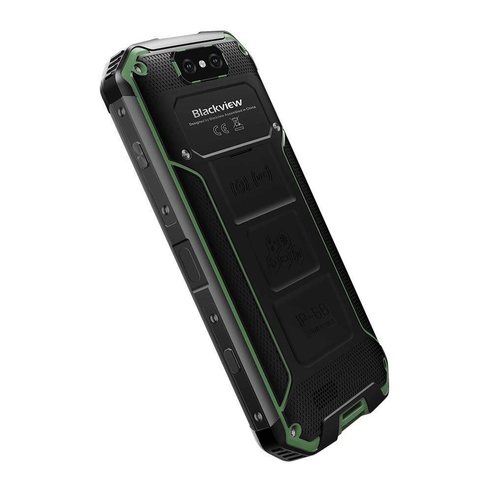Matoen BLACKVIEW BV9500 Three Anti-Smart Phone 4GB 64GB Octa Core 5.7-inch Screen 16mp DualSim Android 8.1 Smartphone (Green) by Matoen (Image #6)