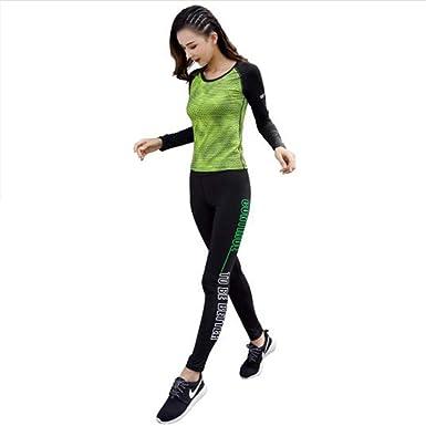 Gengyouyuan Ropa de Yoga de Secado rápido Traje Deportivo ...