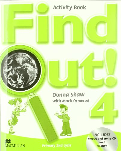 Find Out 4 Activity Book Pack