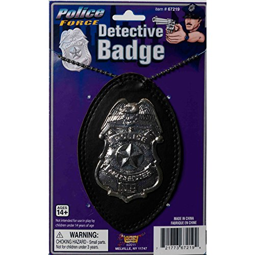 police badge a chain deluxe
