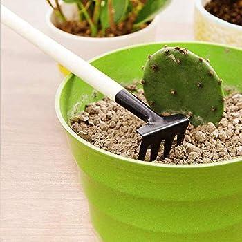 Small Shovel//Rake//Spade Succulent Soil Tools for Indoor Gardening Hand Planting Tools OSGP Mini Set of 3 Tiny Indoor Garden Tool