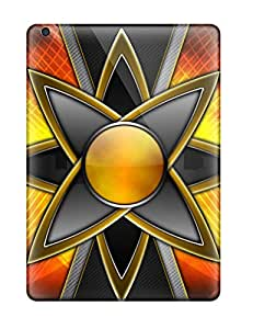 For Ipad Air Protector Case Orange Star Phone Cover