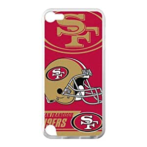 @ Custom NFL San Francisco 49ers for iPod Touch 5 TPU Case