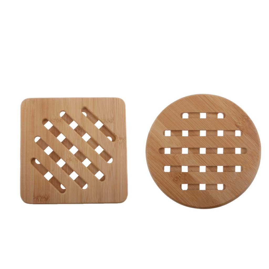 Fenteer Trivet Mat Hot Pad Pot Holders Spoon Coasters Tool Heat Protect Tabletops