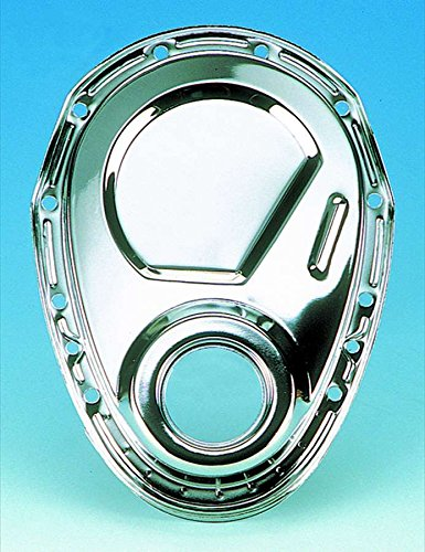 Milodon 65500 Chrome Plated Timing Cover for Small Block Chevy