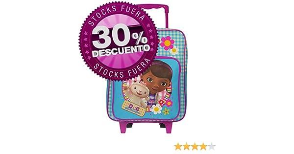 Disney - Mochila con carro de la Doctora Juguetes, 35cm: Amazon.es: Juguetes y juegos