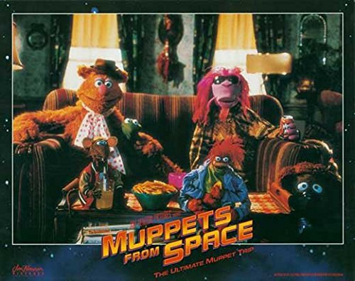 Muppets From Space POSTER Movie (1999) Style B 11 x 14 Inches - 28cm x 36cm (Jeffrey Tambor)(F. Murray Abraham)(David Arquette)(Ray Liotta)(Andie MacDowell)(Rob Schneider)(Josh Charles)
