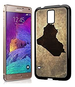 Iraq National Vintage Country Landscape Atlas Map Phone Case Cover Designs for Samsung Galaxy Note 4 Kimberly Kurzendoerfer