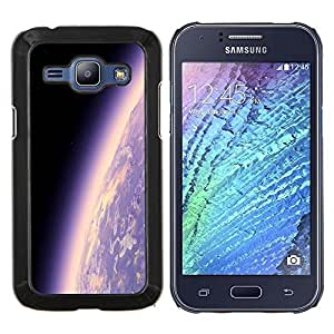 Caucho caso de Shell duro de la cubierta de accesorios de protección BY RAYDREAMMM - Samsung Galaxy J1 J100 - Espacio Planet Galaxy Estrellas 17