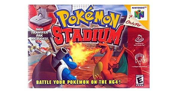Pokémon Stadium - with Game Boy Transfer Pack (N64) [Importación ...