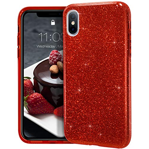 (MATEPROX iPhone Xs Max case,Bling Sparkle Cute Girls Women Protective Case for iPhone Xs max 6.5