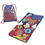 Disney Mickey Mouse Sleeping Bag Wacky Wonderful Slumber Set