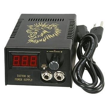 Amazon.com : Tattoo Machine Power Supply Tattoo Gun Power Supply ...