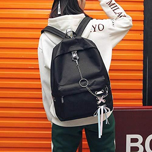 tracolla Stuedents capacit scuola donne Vhvcx tela grande a adolescente ragazze zaini semplici borse q8wpAvxaw