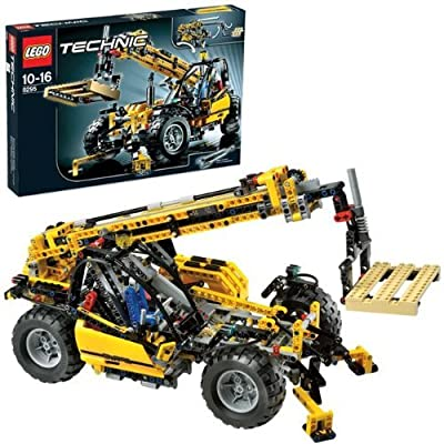 Lego Technic 8295 Telescopic Handler (1182pcs): Toys & Games