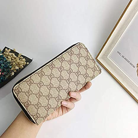 YOIOY Envelope Clutch Bag Fashion Ladies Wallet Long Personality pu Clutch Bag Multifunction Mobile Phone Bag Multi-Card Large Capacity Coin Purse Color : Tan Color : Burgundy