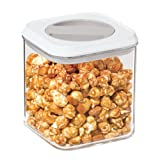Oggi Twist and Store Square Airtight Acrylic Canister, 54-Ounce