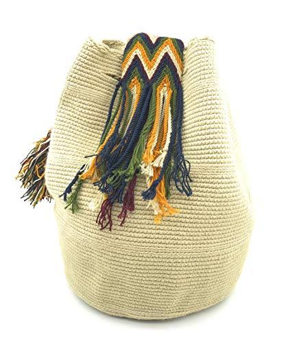 main dos hommes COLOMBIAN à colombiens STYLE fois à et pour Sac Handmade les à Wayuu Murrapal Sacs les femmes la Uxt8tqnz0