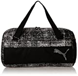 Puma 33 Ltrs Puma Black, Puma White and Distressed Gym Bag (7375710)