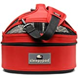 LAGER CORPORATION(ラガーコーポレーション) Sleepypod Mini(スリーピーポッド ミニ) Strawberry Red(ストロベリーレッド) モバイルペットベット 001209