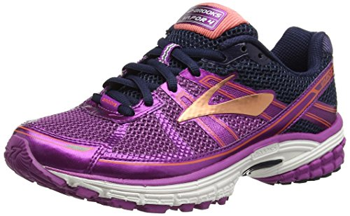 Brooks Vapor 4 Women's Running Shoes - 5 M US - Hyacinth Violet/Peacoat/Living Coral
