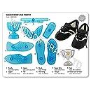 JEM Cutters 101CF009 Soccer Boot & Trophy Cutter (Set of 8), Blue
