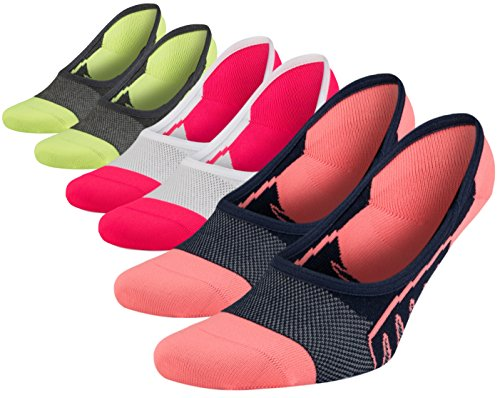 SA SocksAbility Women`s Cotton No-Show Loafer Ultra Low Cut Boat Liner Athletic invisible Anti-Slip Socks – DiZiSports Store