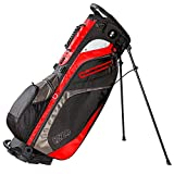 Izzo Lite Stand Golf Bag - Black, Red, Green or Blue - Walking Golf Bag, Ultra Light Perfect for Carrying on The Golf Course, with Dual Straps for Easy to Carry Golf Bag.