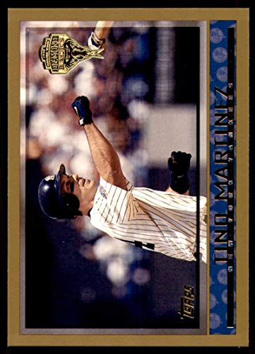 (Baseball MLB 1998 Topps Inaugural Diamondbacks and Devil Rays #284 Tino Martinez Yankees)