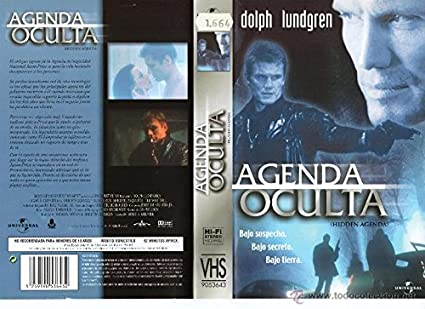 AGENDA OCULTA-DOLPH LUNDGREN DVD: Amazon.es: Cine y Series TV