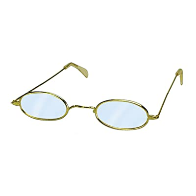 Loftus Mrs Claus Oval Old Granny Costume Costume Glasses, Metallic, One Size: Toys & Games