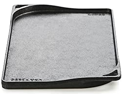 Lodge Dishwasher Safe Seasoned Cast Iron Double Griddle 18 Inch Rust Resistant Cast Iron 2 Burner Griddle Made In Usa