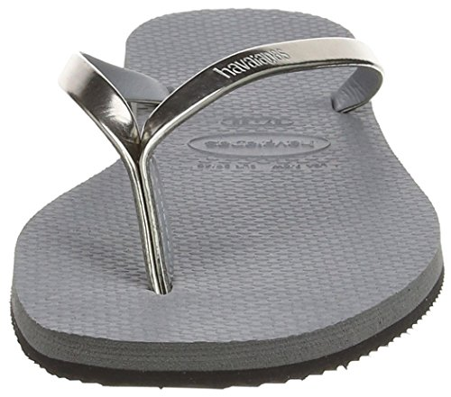 Havaianas Chanclas Mujer You Metallic Plateado (Steel Grey 5178)